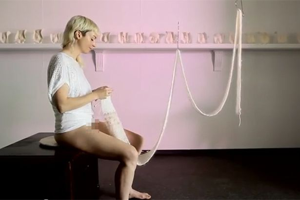 Vagina knitting