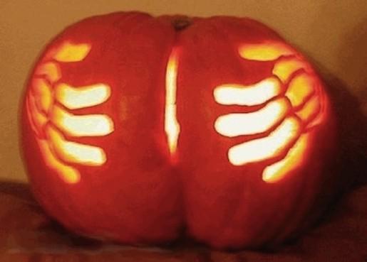 Pumpkin arse