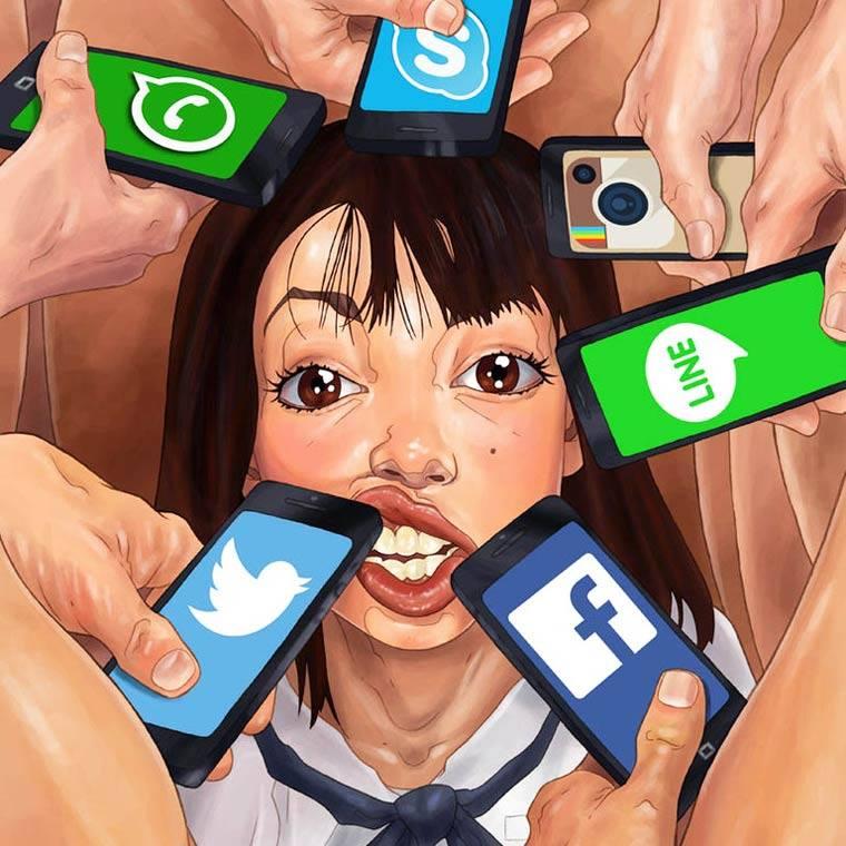 URB phone art