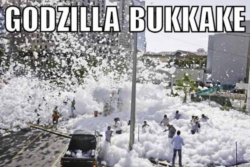 Godzilla Bukkake 2