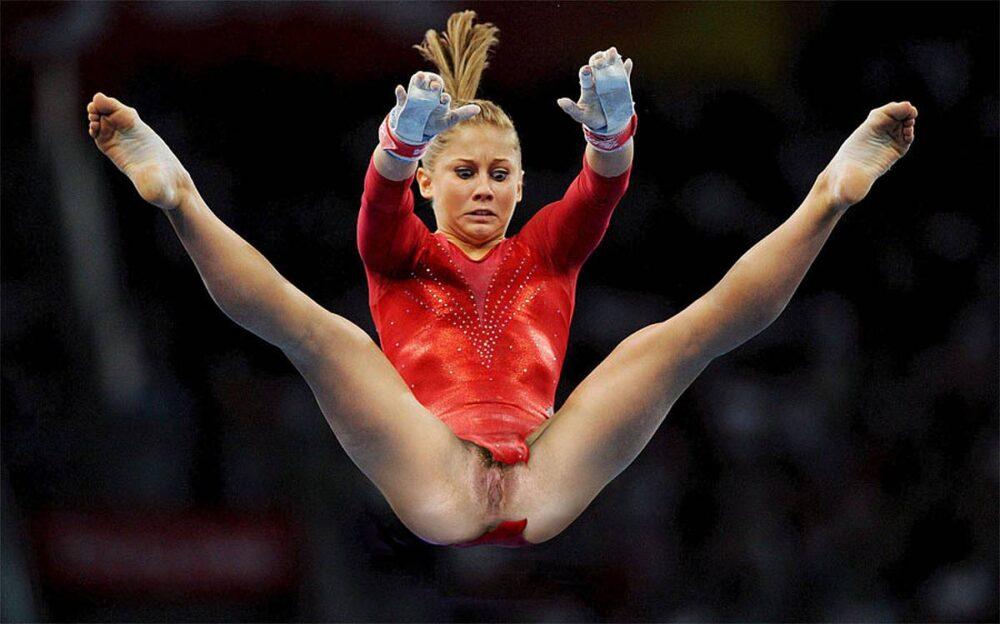 Откровенно голые спортсменки гимнастки 18