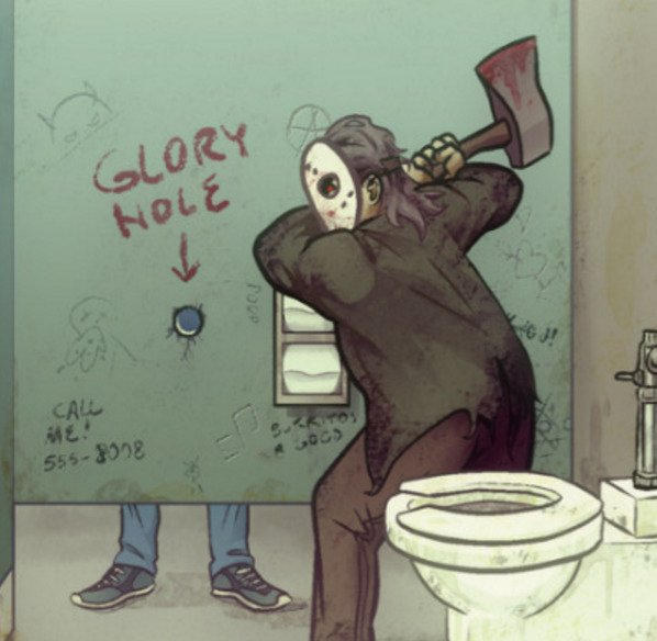 gloryhole-axe
